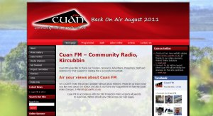 Cuan FM community radio kircubbin