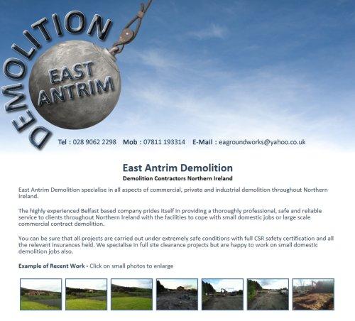 East Antrim Demolition