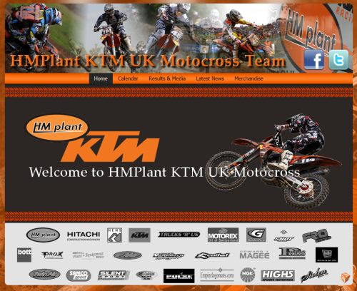 HMPlant KTM UK Motocross