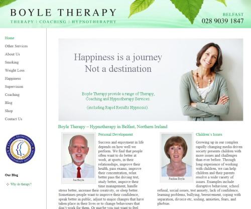 Hypnotherapy Belfast