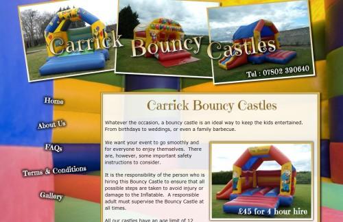Bouncy Castles for Hire in Belfast and Carrickfergus