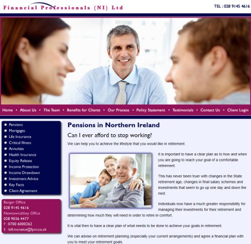 Financial Advisors Northern Ireland
