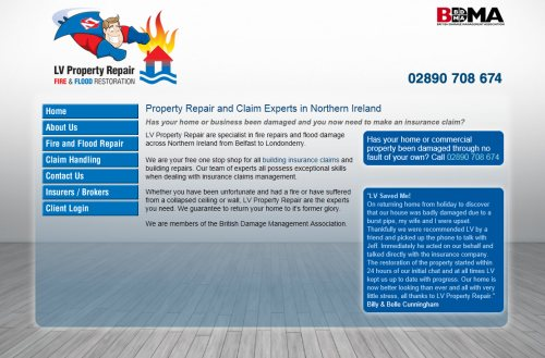 Property Repair and Claim Experts in Northern Ireland