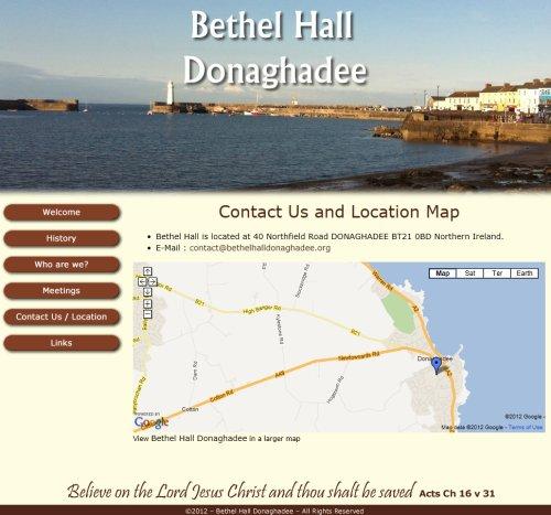 Bethel Hall Donaghadee