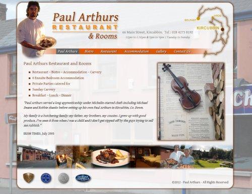 Paul Arthurs Restaurant Kircubbin