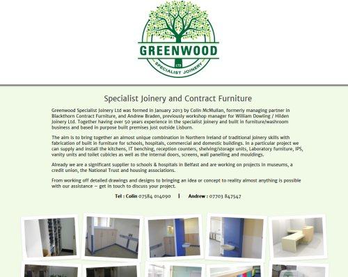 Greenwood Specialist Joinery